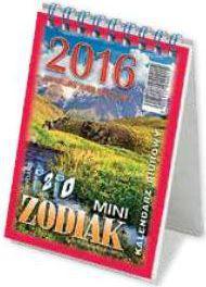 TELEGRAPH Kalendarz 2018 Biurowy Mini Zodiak (246215)