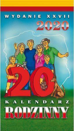TELEGRAPH Kalendarz 2020 Rodzinny Zdzierak (246217)