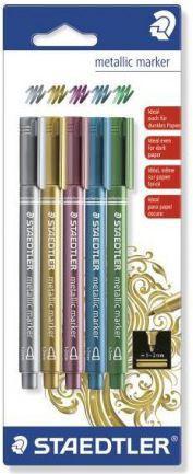 Staedtler Markery metaliczne 5 kolorów (199425)