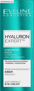 Eveline Hyaluron Expert przeciwzmarszczkowy krem pod oczy 15ml