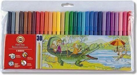 Koh-I-Noor Flamastry 30 kolorów (245652)