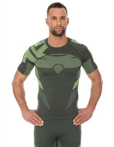 Brubeck Koszulka męska DRY zielona r. XXL (SS11970)
