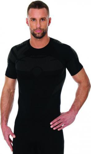 Brubeck Koszulka męska DRY czarna r. S (SS11970)