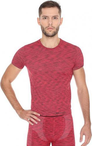 Brubeck Koszulka męska z krótkim rękawem FUSION czerwona r. S (SS11550)