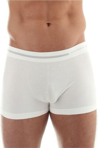Brubeck Bokserki męskie Comfort Wool białe r. L (BX10430)