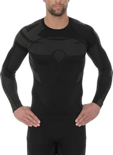 Brubeck Bluza termoaktywna męska Dry czarna r. XXL (LS13080)