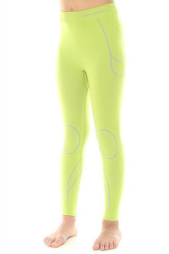 Brubeck Spodnie dziewczęce THERMO limonka 92/98 (LE10780)