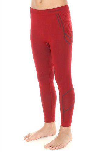 Brubeck Spodnie chłopięce THERMO ciemnoczerwony 92/98 (LE10790)
