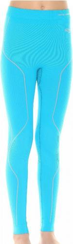 Brubeck Spodnie dziecięce Thermo z długą nogawką niebieskie r. 140/146 (LE10840)