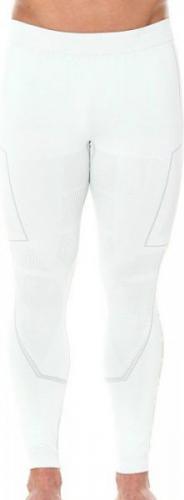 Brubeck Spodnie unisex Cooler z długą nogawką białe r. L (LE11070)