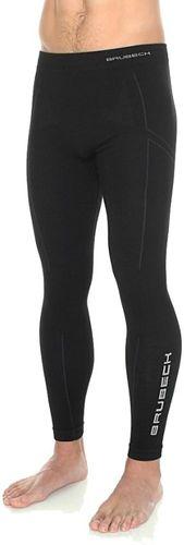 Brubeck Spodnie męskie EXTREME WOOL czarne M (LE11120)