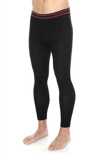 Brubeck Spodnie męskie z długą nogawką Active Wool czarne r. L (LE11710)