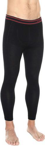 Brubeck Spodnie męskie z długą nogawką Active Wool czarne r. XL (LE11710)
