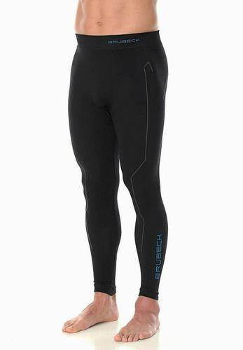 Brubeck Spodnie termoaktywne męskie Thermo czarne r. L (LE11840)