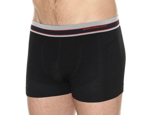 Brubeck Bokserki męskie Active Wool czarne r. XXL (BX10870)
