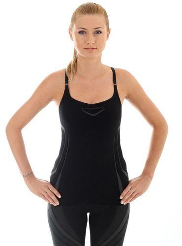Brubeck Bezrękawnik damski Fitness z topem czarna r. XL (CM10070)