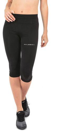 Brubeck Spodnie damskie 3/4 Running Force czarne r.L (SP10400)