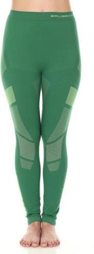 Brubeck Spodnie termoaktywne damskie Dry zielone r. S (LE11850)