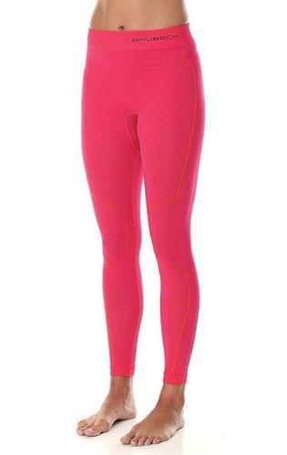 Brubeck Spodnie termoaktywne damskie Thermo różowe r. XL (LE11870)