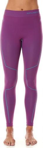 Brubeck Spodnie damskie THERMO z długą nogawką fioletowe r. L (LE11870)