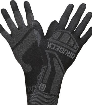 Brubeck Rękawiczki termoaktywne r.S/M czarne (GE10010)