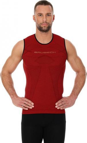 Brubeck Koszulka męska 3D Run PRO czerwona r. XXL