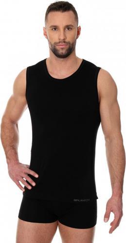 Brubeck Bezrękawnik męski Comfort Cotton czarnyr. L (SL00068A)