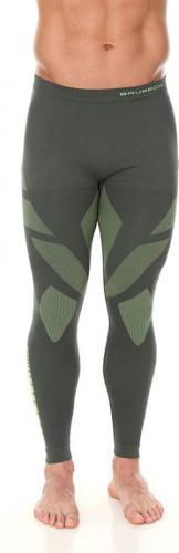 Brubeck Spodnie termoaktywne męskie Dry zielone r. XXL (LE11860)