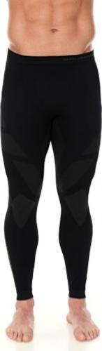 Brubeck Spodnie termoaktywne męskie Dry czarne r. XL (LE11860)