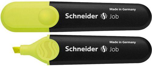Schneider Marker z ściętą końcówką 1 - 5mm Żółty (SR1505)