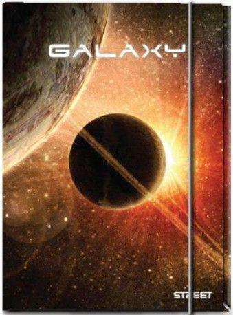 Eurocom Teczka z gumką Galaxy STREET (250226)
