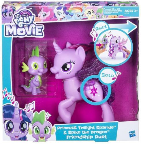 Hasbro My Little Pony Twilight Śpiewająca ze Spikiem (C0718)