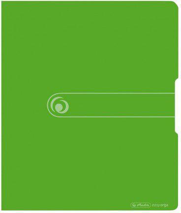 Segregator Herlitz A4 PP 2R 1,6cm zielony Easy (221937)