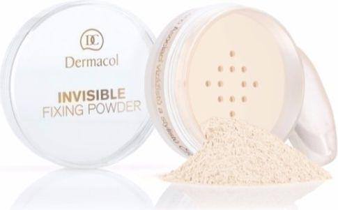 Dermacol Invisible Fixing Powder Puder sypki White 13g