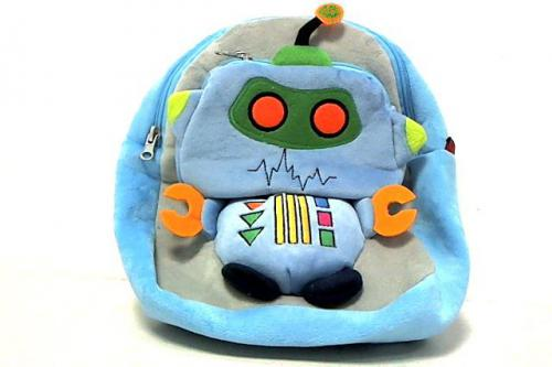 Beppe Plecak Robot szaro-niebieski (250315)