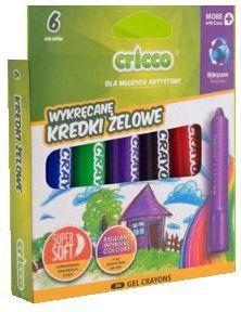 Cricco Kredki żelowo-pastelowe 3w1 kolorów (237991)
