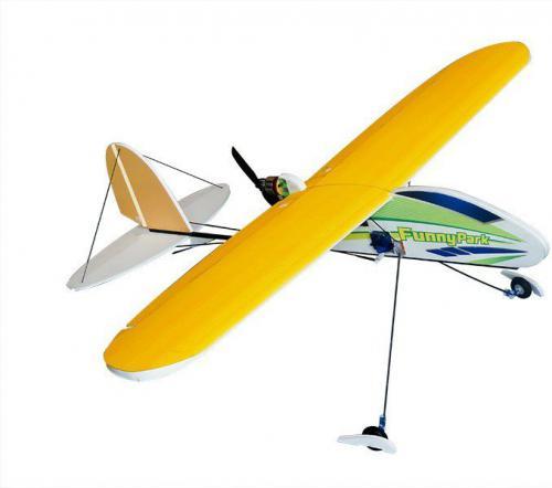 DWhobby Samolot Funny Park EPS KIT + Motor + ESC + 3x Serwo (DW/DLFP04014)