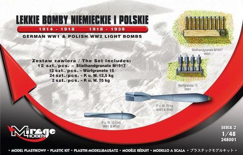 Mirage Lekkie Bomby Niemieckie i Polskie - 217532