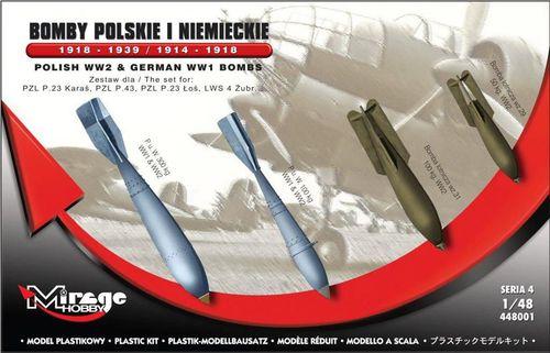 Mirage Bomby Polskie i Niemieckie - 217573