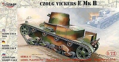 Mirage Czołg 'VICKERS E MK B' - 217501