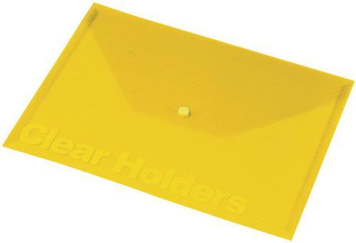 Panta Plast Focus C330 A4 Przezroczysta Żółta (196078)