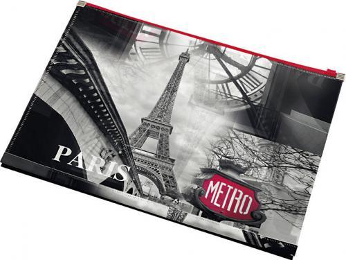 Panta Plast Zip A4 PP Paris (197529)