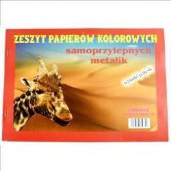 Cormoran Zeszyt papierów kolorowych A4 samoprz metalik - 201081