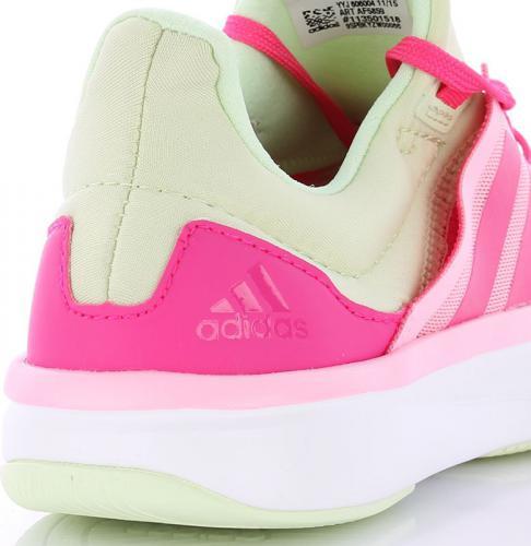buty adidas damskie biało różowe