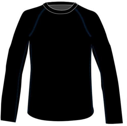 MARTES Koszulka juniorska RAVO JR czarna r. 158