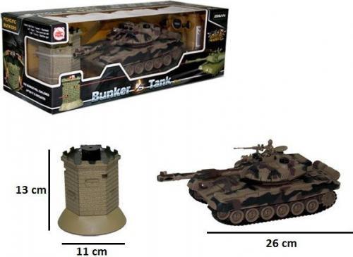 Brimarex Czołg z bunkrem RC z ładowarką
