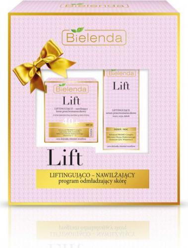 Bielenda Zestaw prezentowy Lift 40+ (krem na dzień 50ml+serum 30ml)
