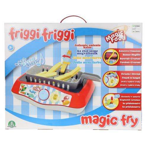 Tm Toys Zestaw kuchenny Magic Fry (GPM 03727)