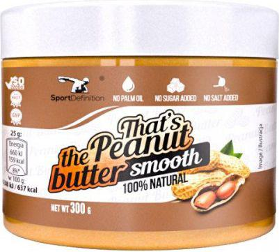 SportDefinition Thats the Peanut Butter Smooth 300g