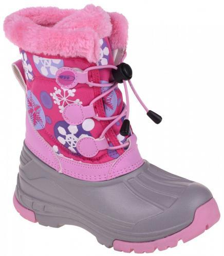 MARTES Buty Zimowe Dziecięce Lilian JR 68104 - Fuchsia Snow r. 34